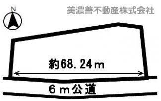 【区画図】45225 岐阜市日野北土地