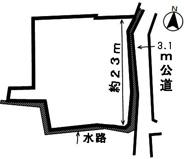 46250 安八郡神戸町南方土地 の画像