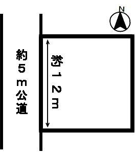 【区画図】47280 岐阜市黒野土地