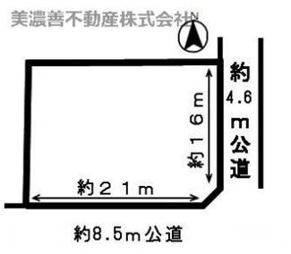 【区画図】49194 岐阜市切通土地