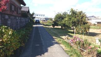 【前面道路含む現地写真】50973 羽島市上中町長間土地