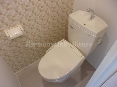 ハーモニーテラス若松町Ⅱのトイレ☆