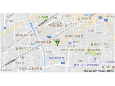 【地図】倉成マンション