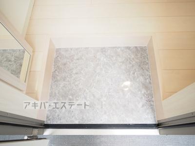 【玄関】ディアグランコート足立