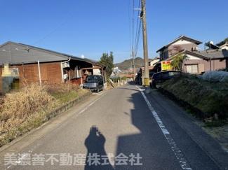 【前面道路含む現地写真】31380 関市千疋北土地