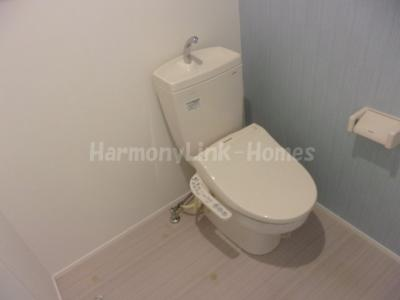 ラフォンテ足立の落ち着いたトイレです