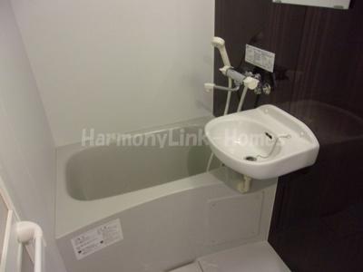 ラフォンテ足立のコンパクトで使いやすいお風呂です