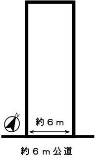 【区画図】49688 岐阜市池田町土地