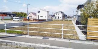 【前面道路含む現地写真】50084 羽島市福寿町平方土地