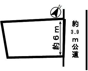 【区画図】51197 岐阜市早田本町土地
