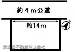 【区画図】51698 岐阜市岩田坂土地