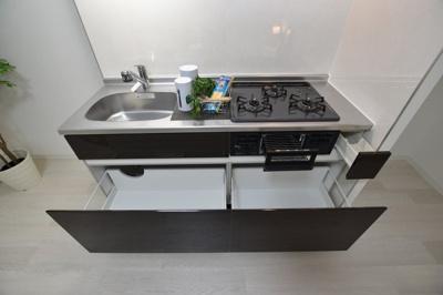 【キッチン】グランパシフィック今里LUX