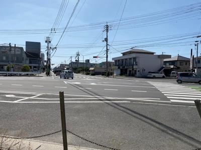 【前面道路含む現地写真】洲崎 土地