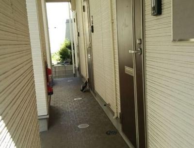 NARISAの玄関前☆