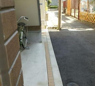 NARISAの駐輪スペース☆