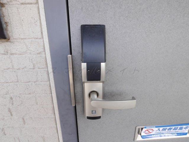 デジタルロックキーなので、鍵を持ち歩きが不要です☆