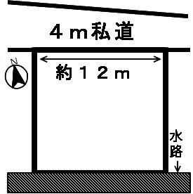 【区画図】46706 岐阜市岩崎土地