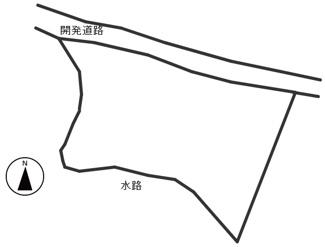 【区画図】49447 関市池尻土地
