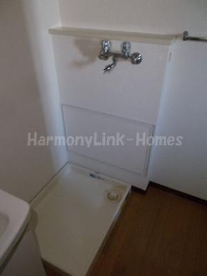 コーポレート竹の塚五丁目の室内洗濯機置き場