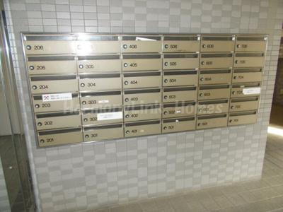 コーポレート竹の塚二丁目の郵便ボックス