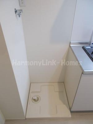 リバーパレスAKの室内洗濯機置き場