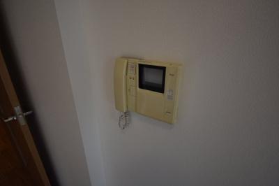 TVモニターインターホンです