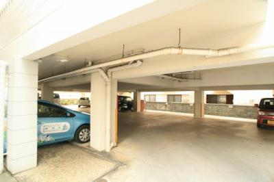 駐車スペースもあります