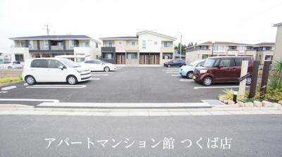 【駐車場】シェーン ドミールⅡ