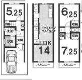 伏見区羽束師菱川町 新築戸建の画像