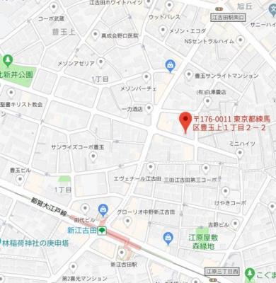 【地図】ZESTY新江古田