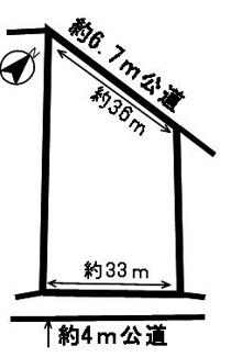 【区画図】52349 関市下有知土地