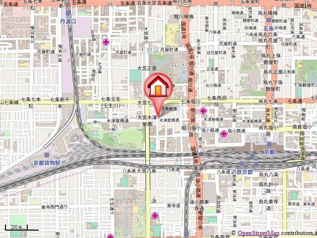 【地図】フレイムパークイースト