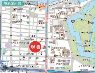 【周辺】谷町四丁目駅徒歩5分!39.93㎡!