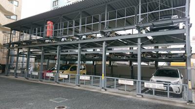 【外観】フローラル東葛西Ⅰ機械式駐車場