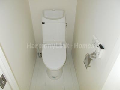 CORTE FELIZの清潔感のあるトイレです(2F部屋参考写真)