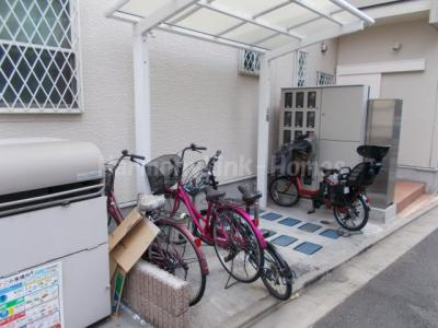 CORTE FELIZの駐輪スペース☆
