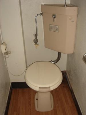 【トイレ】千歳マンション