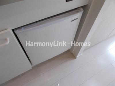 ハーモニーテラス町屋Ⅱのミニ冷蔵庫