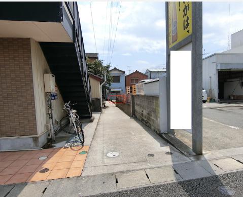 【前面道路含む現地写真】宝永町