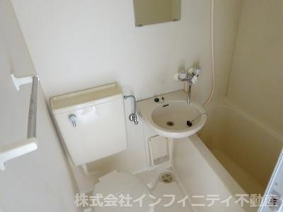 【洗面所】レインボーエム