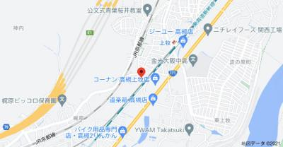 【地図】マンション都松