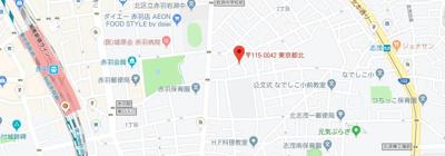 【地図】avenir赤羽