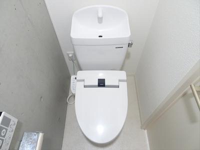 【トイレ】COCOFLATSASAZUKAⅢ
