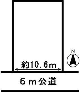 【区画図】44483 関市迫間台土地