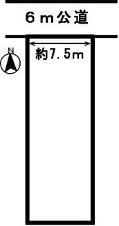 【区画図】46771 岐阜市須賀土地
