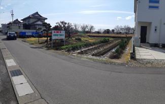 【前面道路含む現地写真】46771 岐阜市須賀土地
