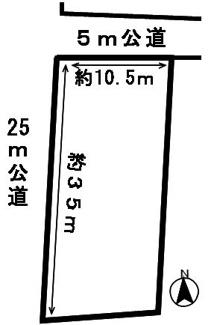 【区画図】46772 岐阜市須賀土地