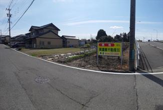 【前面道路含む現地写真】46772 岐阜市須賀土地