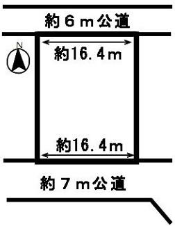 【区画図】49433 岐阜市日野北土地