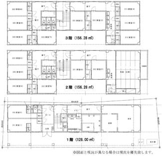 川越市喜多町 寮・シェアハウス 個室17戸